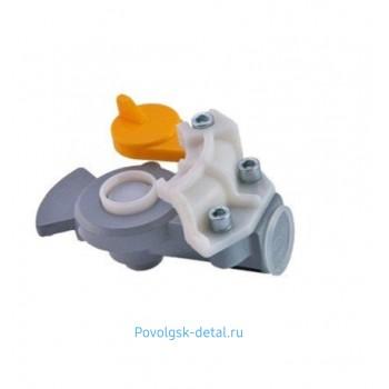 Головка ПАЛМ автомат с клапаном Желтая / Автокомпонент + 16-3521410