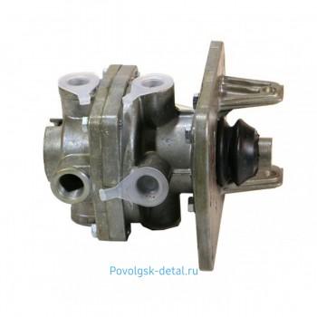 ГТК (главный тормозной кран) н/о 2-х секционный без педали / Рославль 100-3514108-10