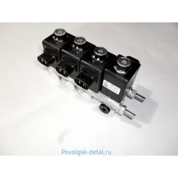 Блок электромагнитных клапанов БЭК 37.004-01 КЭМ-10-02,03/2+2 (4шт.) 37-004-01