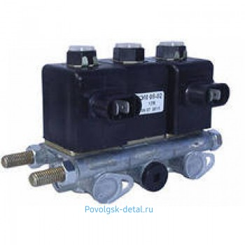 Блок электромагнитных клапанов БЭК 37.000 КЭМ-10 (3шт.) 37-000