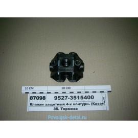 Клапан защитный 4-х Евро / Нур-Тех 9527-3515400